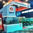 Donfeng Motors (International Client) ‐ Africa Aerospace Defence 2014 Expo ‐ Manufacture and install