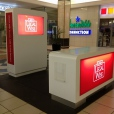 Legalwise – Manufacture of counter and screen display units (12 sets) – Mall Activations