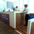 Standard Bank Prestige Lounge – Cape Town International Airport – Manufacture and install